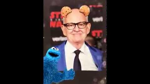 Cookie Monster Snapchat Filter