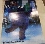 Holiday on ice 1979 poster cookie monster