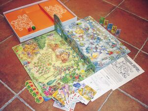 Ravensburger 1983 france fraggle rock game 3
