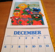 Sesame 1981 poster calendar 9