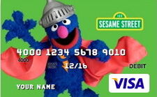 Sesame debit cards 15 super grover
