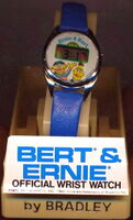 Bradley 1977 ernie bert digital watch