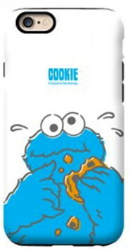 G-case eating cookie
