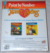 Hasbro 1984 muppet babies paint by number 2