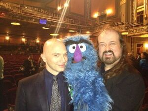 Michael Cerveris and Tyler Bunch