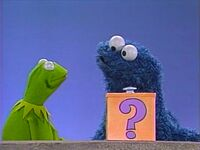 Cookie Monster and Kermit