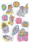 Sesame Street in Space Sticker Book 012