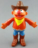 Applause 1992 ernie pvc bendable figure