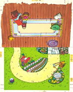 Colorforms 1978 sesame mother goose stand-up play set 7