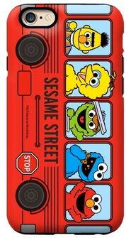 G-case bus red