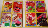 Gibson greetings 1990 muppet valentines 3