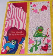 Gibson greetings 1990 muppet valentines 7