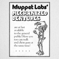 Muppet Labs Mechanized Dentures