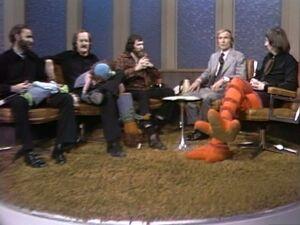 Muppeteers & Dick Cavett