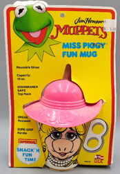 Superseal 1988 fun mugs kermit piggy cups 4