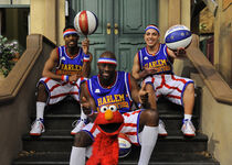 The Harlem Globetrotters Elmo