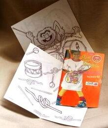 Tulip productions 1989 paint your shirt crafts kit 2