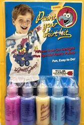 Tulip productions gonzo fabric paint shirt kit