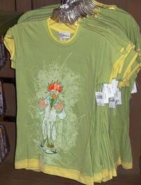 Beaker disneyland shirt 2010