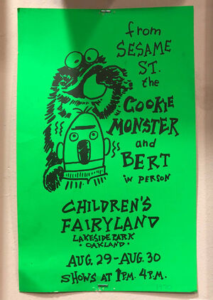 Children's Fairyland poster 1970