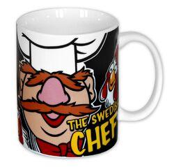 Close up uk mug swedish chef 1