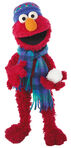 Elmo snowball
