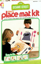 Friends industries 1976 catalog stencil place mat kit 2