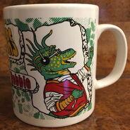Kiln craft dinosaurs mug 3