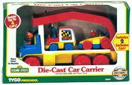 Matchbox die-cast car carrier