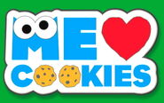 Me Love Cookies core pin