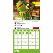 Muppet 2017 Calendar Danilo April