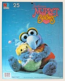 Muppet Babies Milton Bradley puzzle Gonzo
