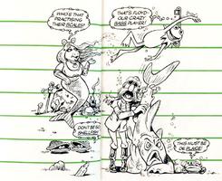 Muppet Diary 1980 - mermaid
