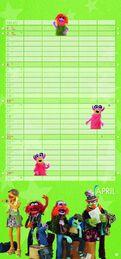 Muppets 2018 Kalender April