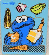 Playskool1973CookieFoods10pcs