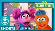 Sesame Street Practicing Social Distancing with Abby and Rudy