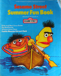 Sesame street summer fun book 1976