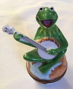 Bernadaud kermit banjo