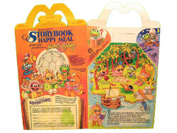 Muppet Babies Happy Meal box 1988 01a