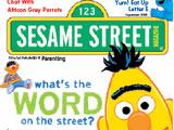 Sesame Street Magazine online (September 2008)