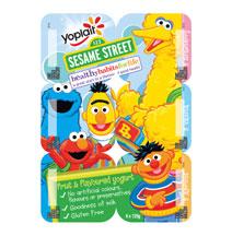 Yoplait AU Sesame Street