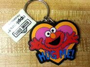 Applause keychain 1997 hug me elmo