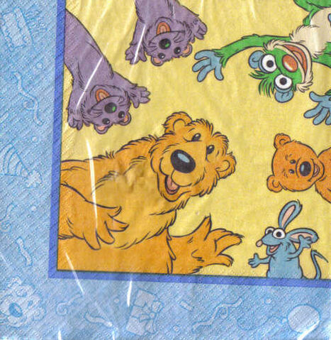 File:Bear in the Big Blue House Napkins.jpg