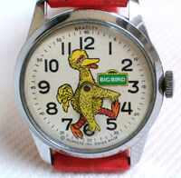 Bradley time 1974 big bird watch