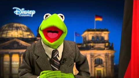 DISNEY CHANNEL FREE TV - Neujahrsansprache mit Kermit - Die Muppet Show