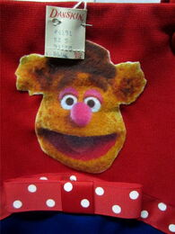 Danskin late 70s fozzie dress 3