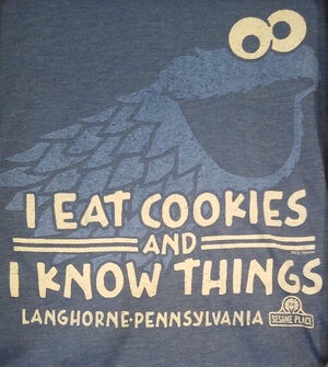 I eat cookies and I know things