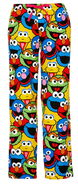 Peter alexander sesame character face classic flanelette