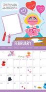 Sesame 2019 calendar 3