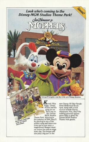 Disney MGM ad